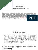 EC101A U5 7(Inheritance-I)