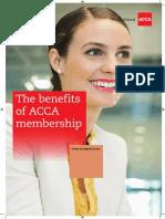 Benefits of Membership 2015