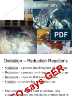 Lecture 9 - Redox Geochemistry