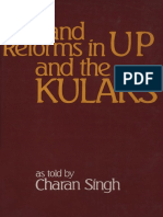 Land Reforms in UP and the Kulaks, Charan Singh