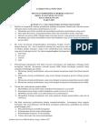 Latihan Soal Post Test PKB KK-A, KK-B