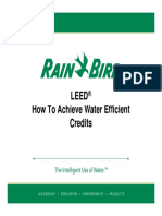 !!!Water Efficient Credit