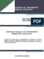Diapositivas de transporte