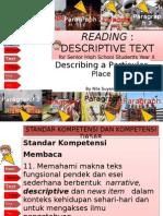 Descriptive Text About Palembang