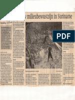 Naar Een Nieuw Milieubewustzijn in Suriname 09012007 Gooi en Eemlander