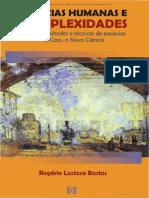 BASTOS, Rogério. Ciências humanas e complexidades.pdf