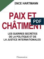 Florence Hartmann-Paix Et Chatiment