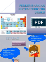 Perkembangan Sistem Periodik Unsur (2)