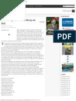 Het Eco-gehalte Van Berg en Dal - Parbode Surinaams Opinie Maandblad - Oktober 2010