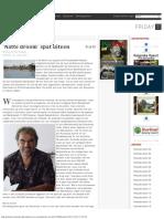 'Natte Droom' Spat Uiteen - Parbode Surinaams Opinie Maandblad -