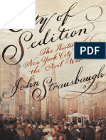 City of Sedition, The History of New York City During the Civil War - John Strausbaugh