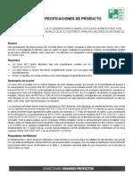 Especificacion de Producto Tubo Sanipro 1