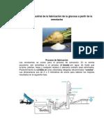 Proceso Industrial de La Glucosa