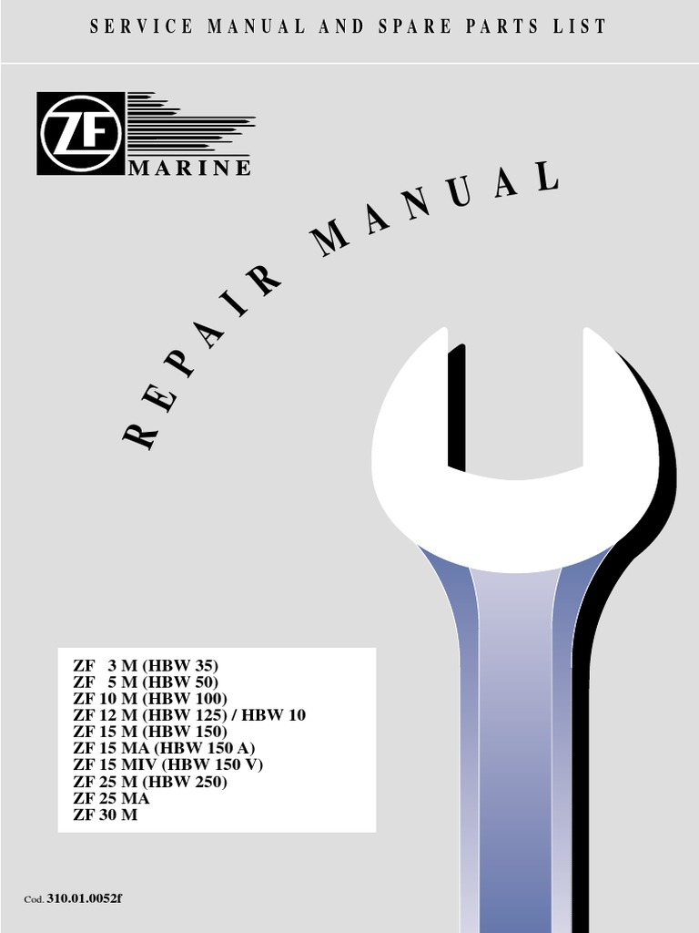 repair manual zf gearbox manual transmission transmission rh scribd com