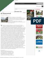 Pagara-estafette Toch Weer in de Binnenstad - Parbode Surinaams Opinie Maandblad -