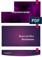 Reservoir drive mechanisms