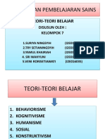 Tugas Ppt Teori-teori Belajar1