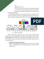 Spektrofotometer UV-Vis Materi