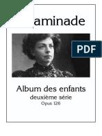 Album Des Enfants - Deuxieme Serie Op 126 Cecile Chaminade