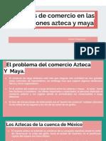 Copia de Puertos de Comercio en Las Civilizaciones Azteca y Maya