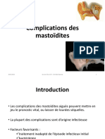Complications Mastoiditessaigues
