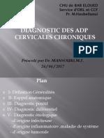 ADP cervicales chriniques