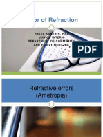 Error of Refraction - Edited