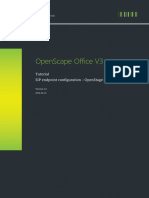 Configuration OpenStage
