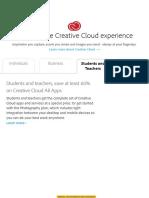 Pengajuan Creative Cloud pricing and membership plans   Adobe Creative Cloud