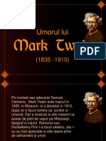 Umorul Lui Mark Twain