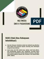KD 3.3 Hak Atas Kekayaan Intelektual (HaKI)