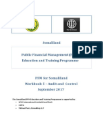 PFMS WB5 Audit and Control