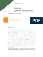 El proceso de investigacin etnografica - Eduardo Restrepo.pdf