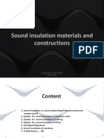 5. Sound Insulation
