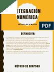 Integracion Numeria Simpson 1