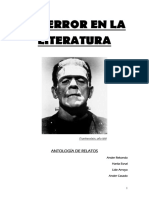 V. A.  - El terros en la Literatura