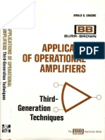 Jerald G. Graeme - Applications Of Operational Amplifiers 3rd Generation Techniques