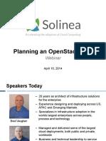 Planning OpenStack PoC