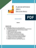 Resumen Plan 2011 (2017)