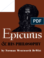 Epicurus and His Philosophy - De Witt
