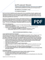 Fulbright Essay Guidelines for Study Research Applications_2015-2016