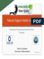 Natural Organic Matter
