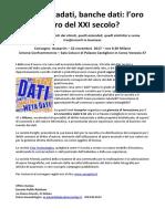 Encanto Public Relations Dati, Metadati, Banche Dati l'Oro Nero Del XXI Secolo