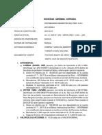 Distribuidora Abarrotes Del Peru s.a.c. 2017 i 11866