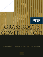 World- Grassroot Governance, Chiefs in Africa and Afro-Caribbean
