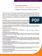 Psychometric Test Training Courses