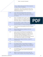 Reformasi -Timeline – Introduction to Protestantism