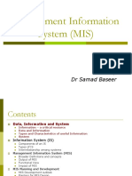 Managment Info Sys  lectures