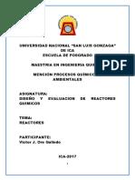 Diseño de Reactores 1 (Solucionario)