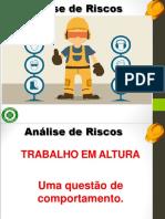 Análise de Riscos - Trabalho Em Altura.-1